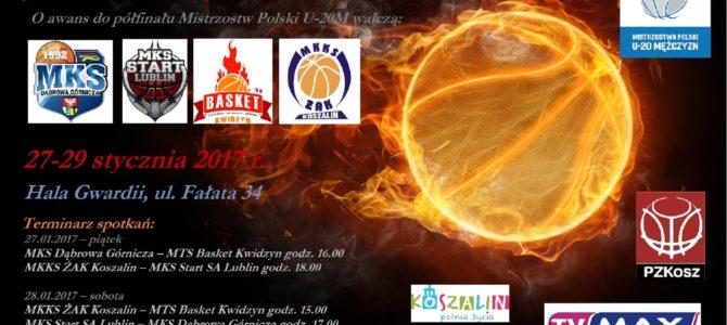 Turniej Ćwierćfinałowy Mistrzostw Polski Juniorów Starszych U20M w koszykówce