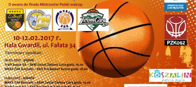 Turniej Półfinałowy Mistrzostw Polski Juniorów Starszych U20M w koszykówce