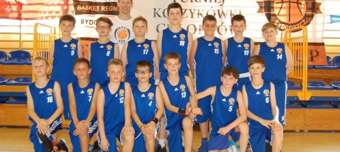 Srebro w Bydgoszczy chłopców U12